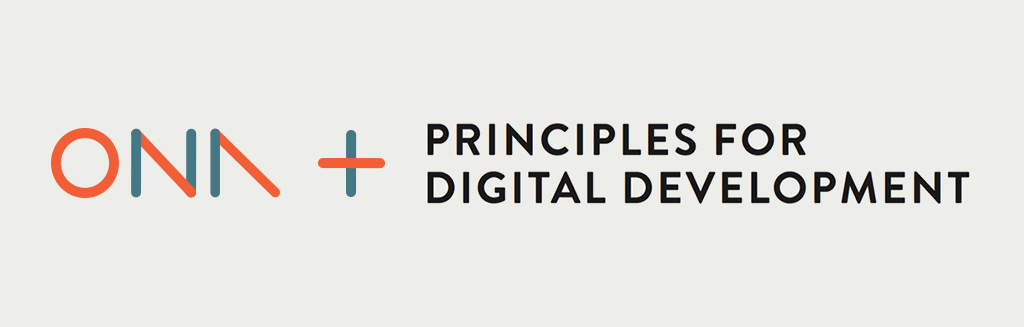 Ona endorses Principles for Digital Development