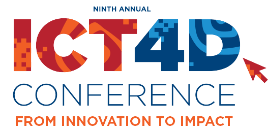Ona at the 2017 ICT4D Conference
