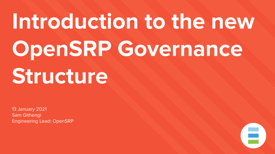 OpenSRP Governance Structure